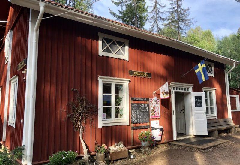 The Gruvstuga visitors' centre